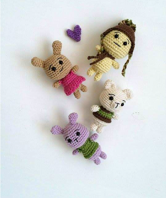 A[mi]dorable Crochet: Tiny Critter Patterns. Free pattern ...
