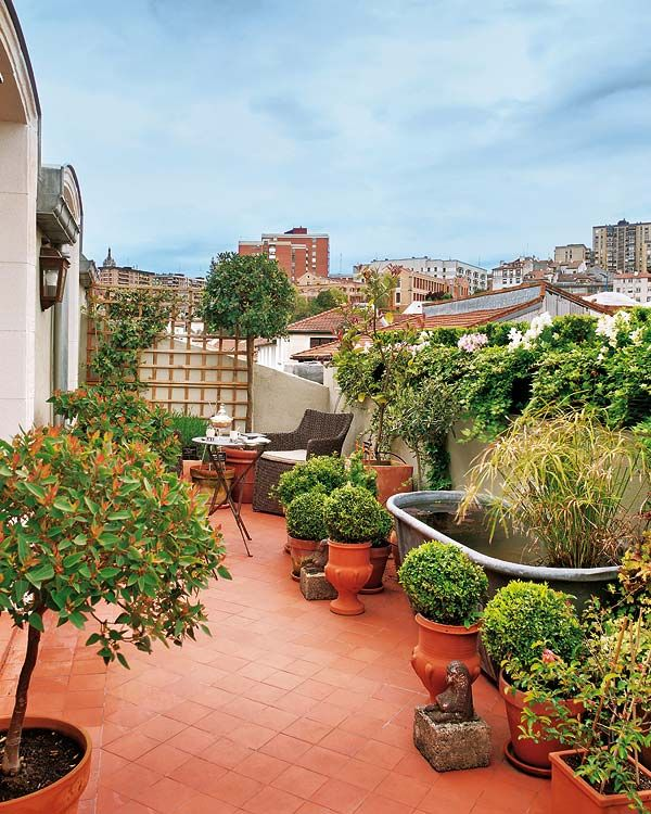 Photo of Radiant attic apartment transformed in Spain