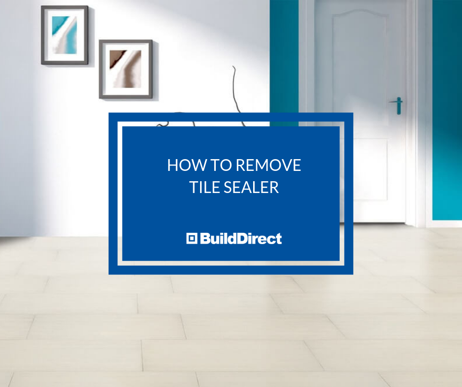How To Remove Tile Sealer Without Damaging Tile How To Remove Tiles Tile Floor