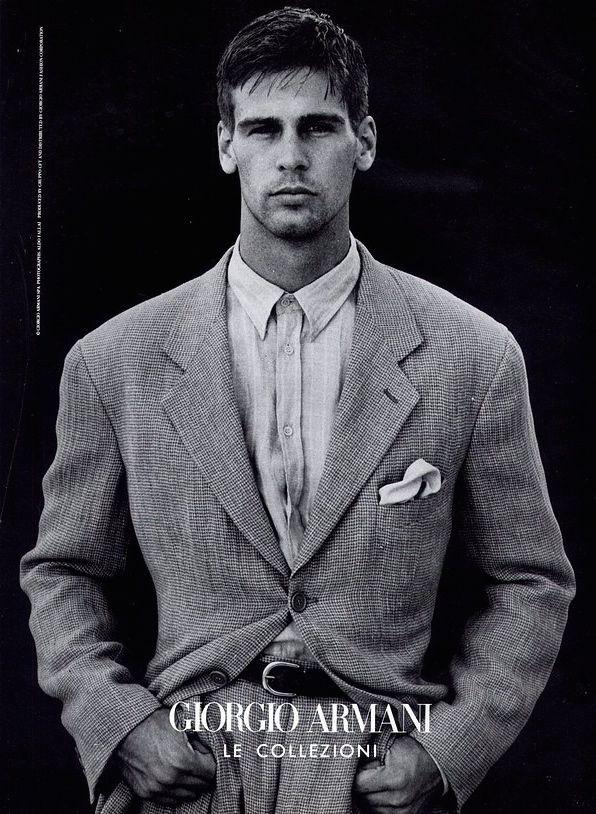 Giorgio Armani 1990 Google Sogning Armani Suits Armani Men Mens Outfits
