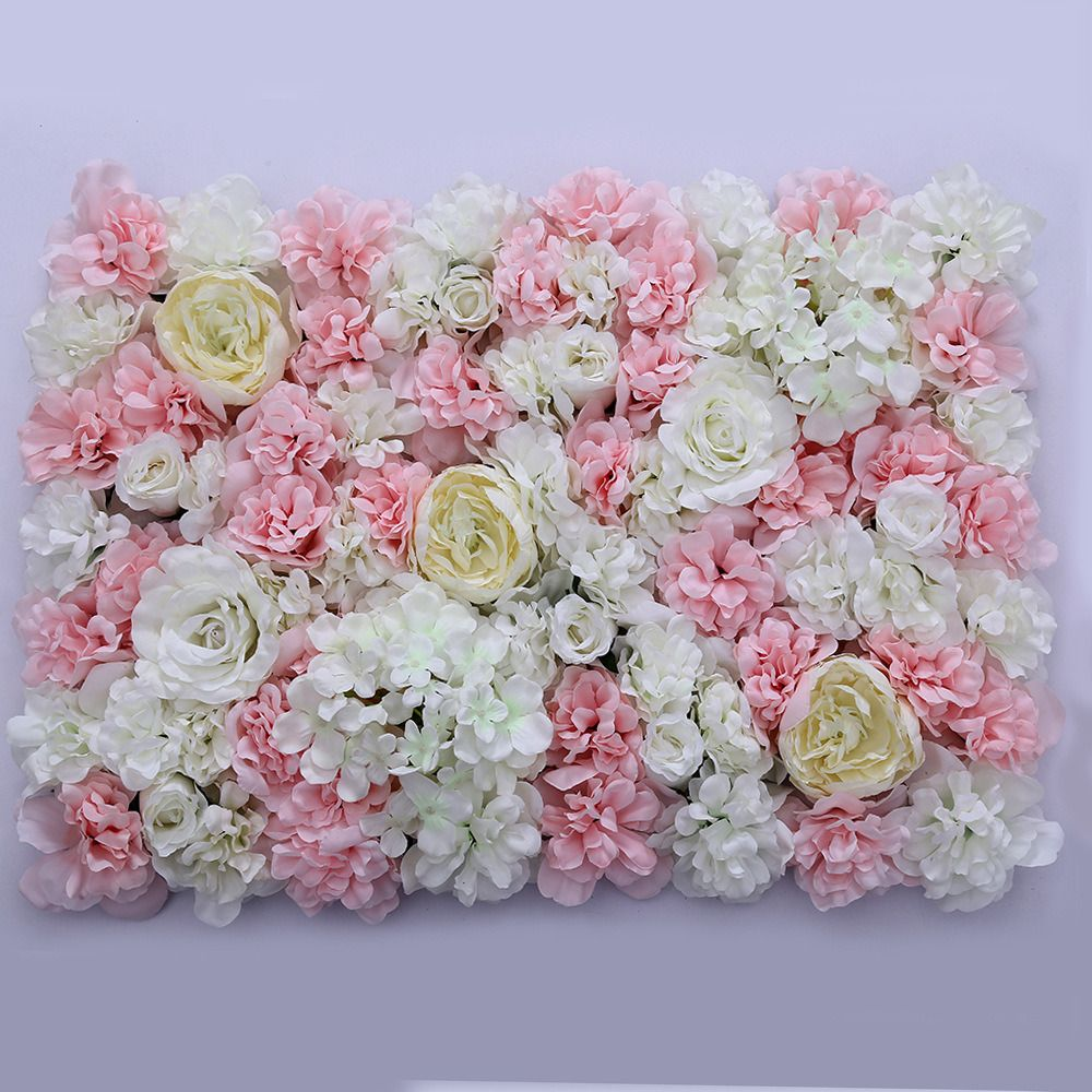 Rose Artificial Flower Wall For Wedding Decoration Stage Background Decoration Flower Wall Flower Wall Wedding Flower Wall Backdrop