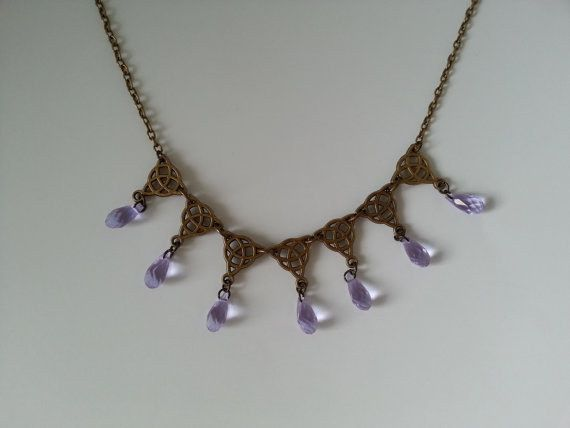 Sansa Stark S Purple Wedding Necklace Purple Wedding Pretty