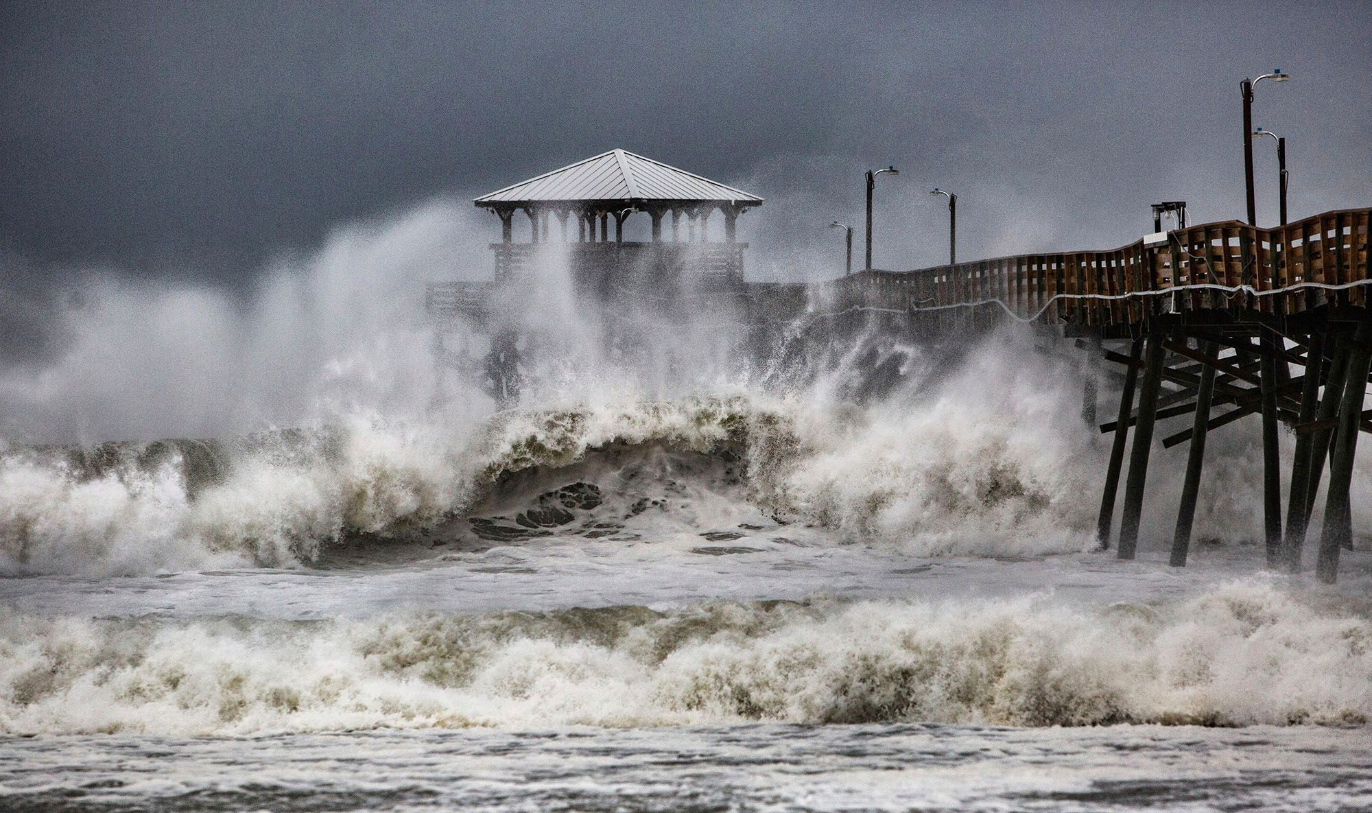 Time Is Running Out Hurricane Florence Is Almost Here Atlantic Beach North Carolina Coast Florence