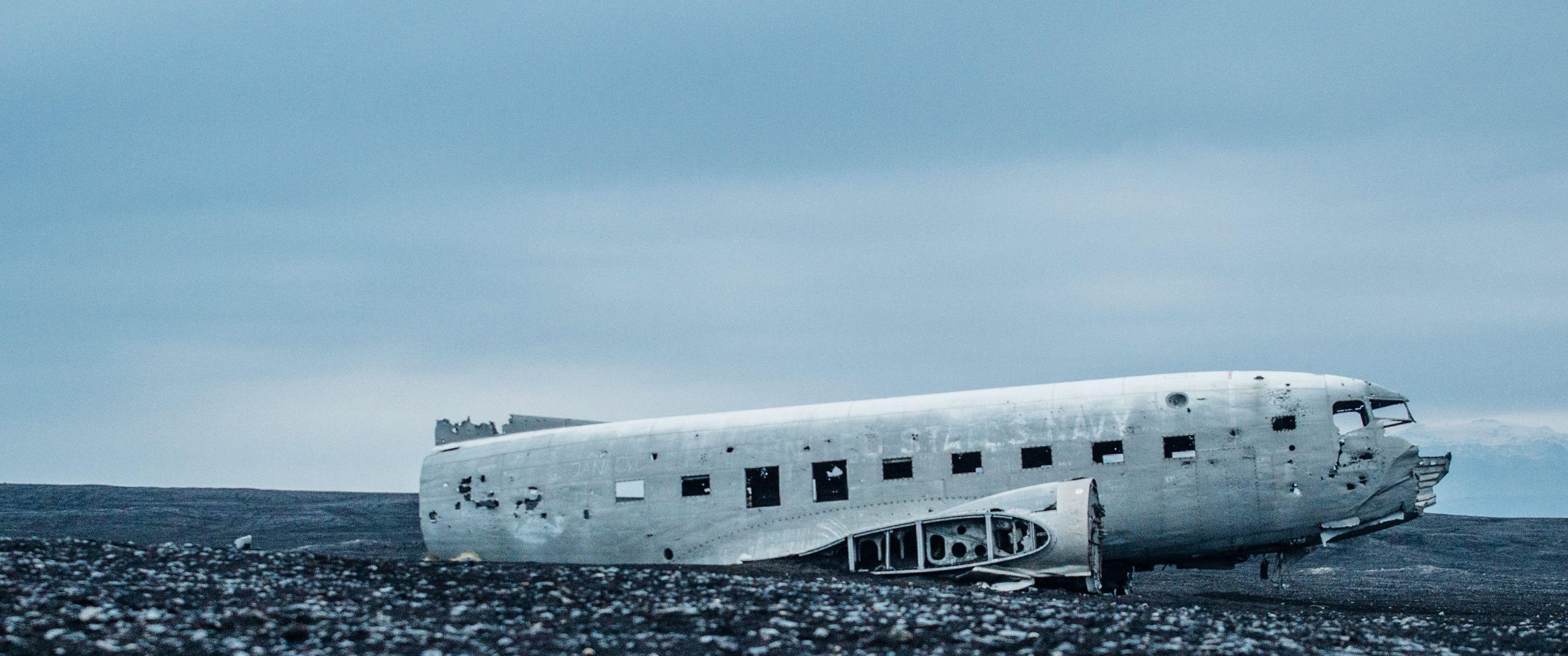 Abandoned Flight 21 9 Ultrawide Hd Wallpaper 3440x1440