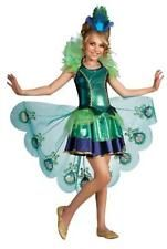 halloween peacock costume fancy dress for girls age 8 10 large