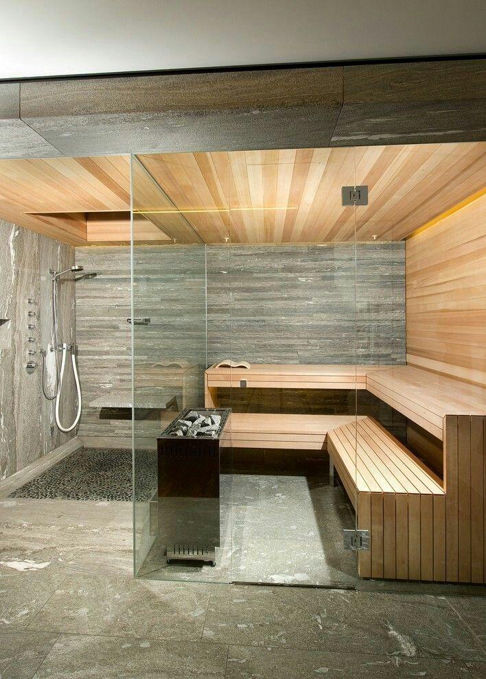 Delicieux Sauna Room, Sauna Steam Room, Sauna House, Wellness Spa,