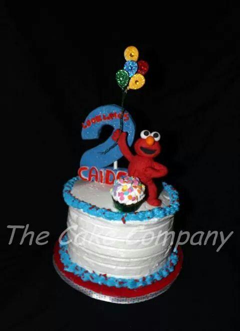 Elmo smash cake The Cake Company My cakes Pinterest Elmo