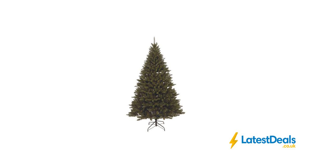 7ft Dark Green Balmoral Artificial Christmas Tree 50 At Homebase Artificial Christmas Tree Homebase Dark Green