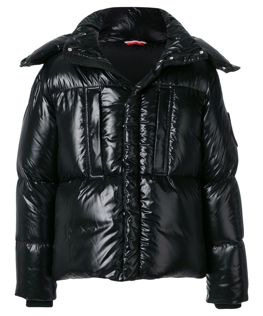 Moncler Men's Black Polyamide Down Jacket Jackets