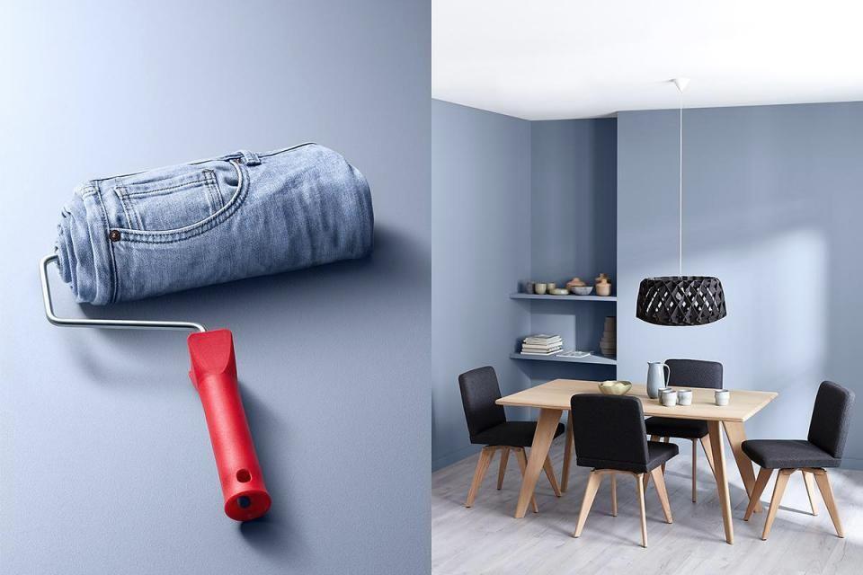Schoner Wohnen Trendfarbe Denim Bild 4 Schoner Wohnen Farbe Schoner Wohnen Trendfarbe Schoner Wohnen Wandfarbe