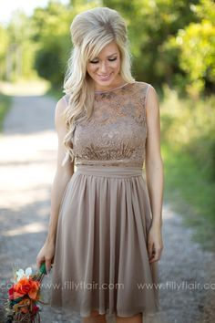 Exquisiteness Bridesmaid Dress