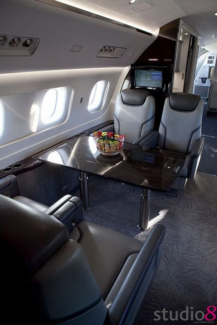 $499 Everyone's Private Jet. Book Now! www.flightpooling.com Interior Photo of Interior photo... #emptyleg #business #airplane #cabin
