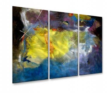 All My Walls Aqua Grotto Metal Wall Hanging - PAL00094 | home ...