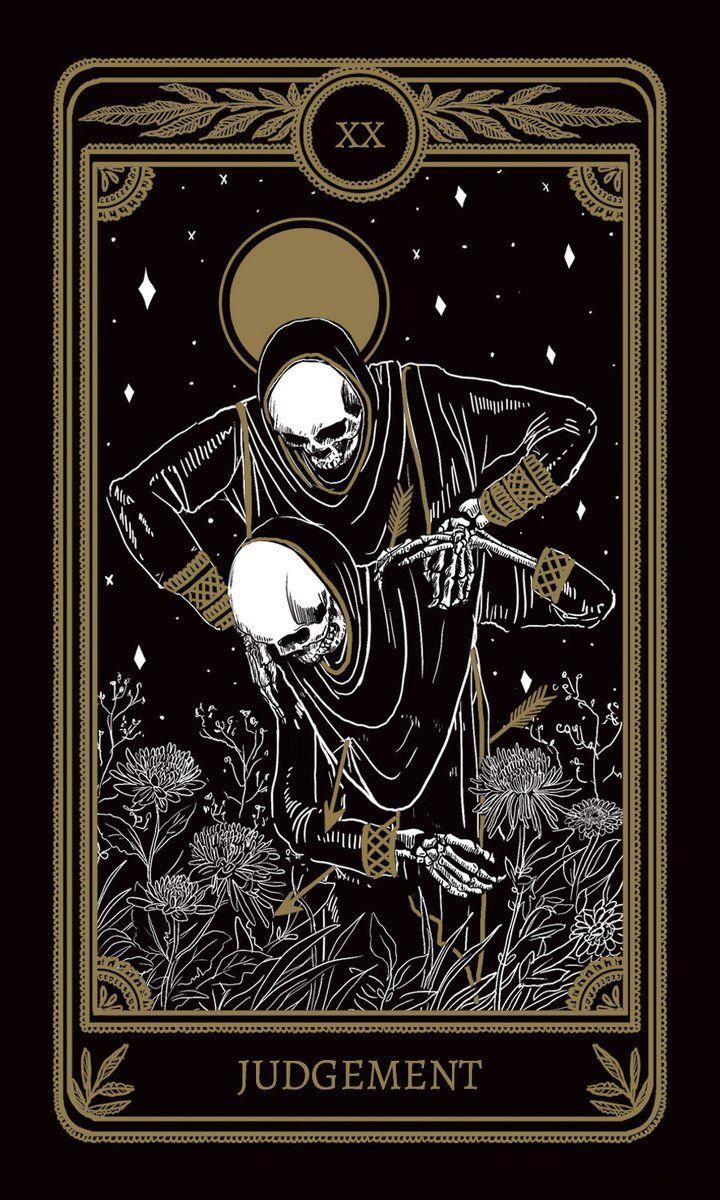 Judgement Tarot Cards Art Judgement Tarot Card Drawing Wallpaper