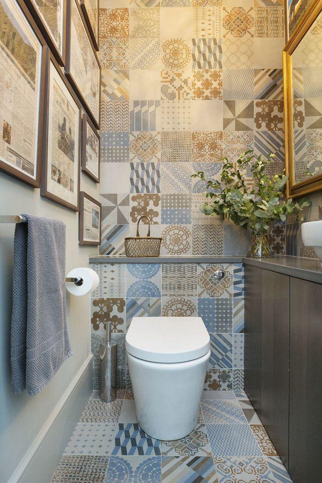 Дизайн туалетов маленьких размеров: 80 компактных и ...