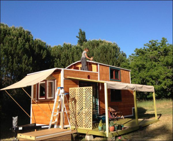 Tiny House Decks New Avenue House Deck Tiny House