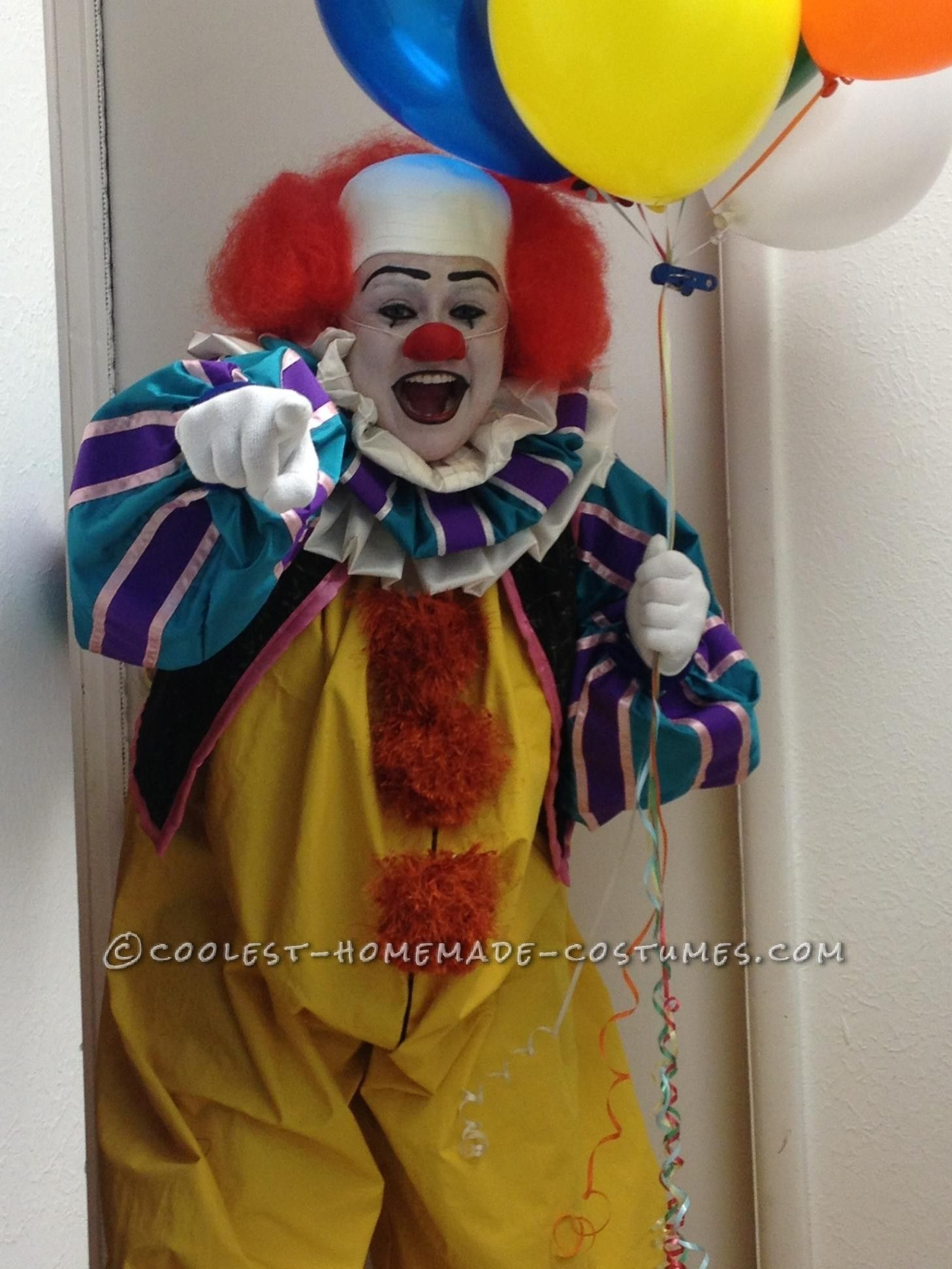 Coolest Stephen King's IT - Pennywise the Clown Costume | Costumes ...