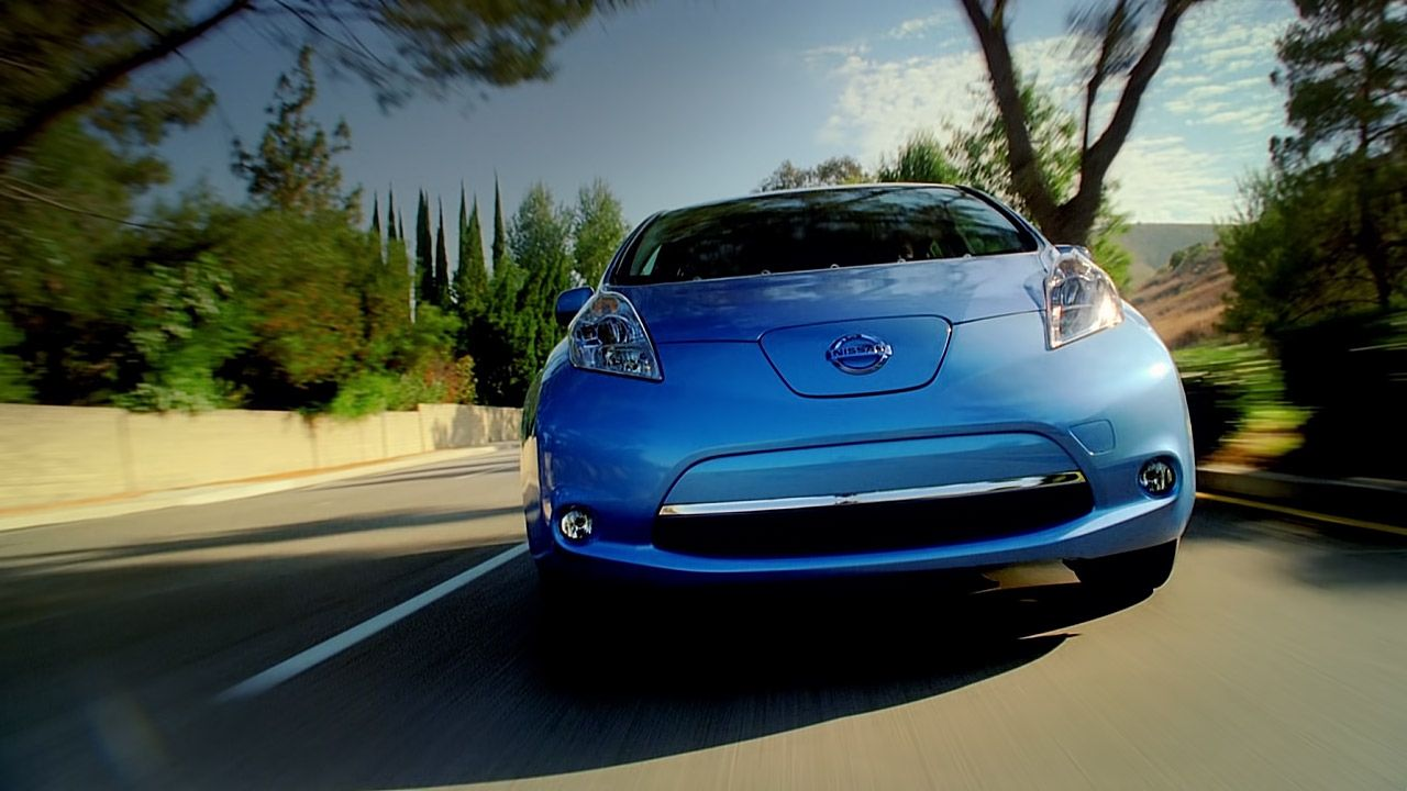 Nissan Leaf Electric Car Features Nissan Leaf Nissan Car Features