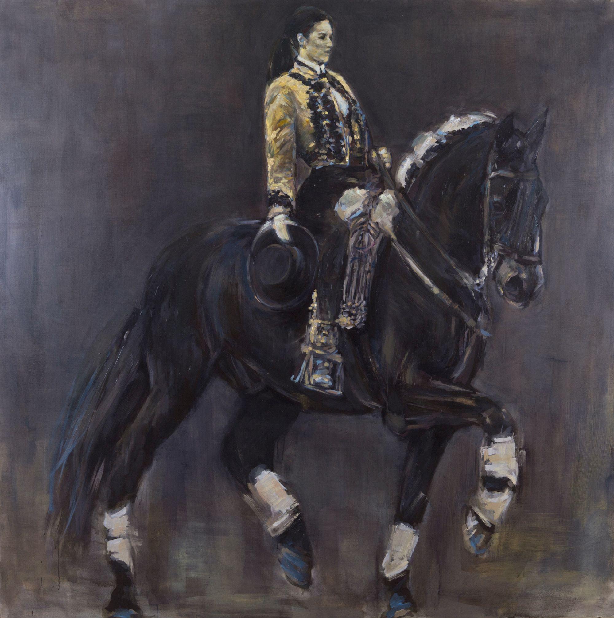 Monica Serrano Oil On Canvas 180cmx180cm