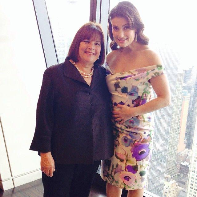 At #Hearst with Idina Menzel!  #Fun !!