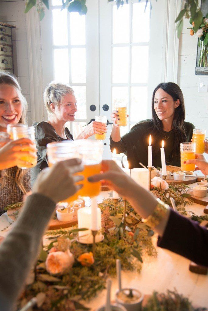 Hosting Dinner Party a winter dinner party | joanna gaines, dinners and magnolia
