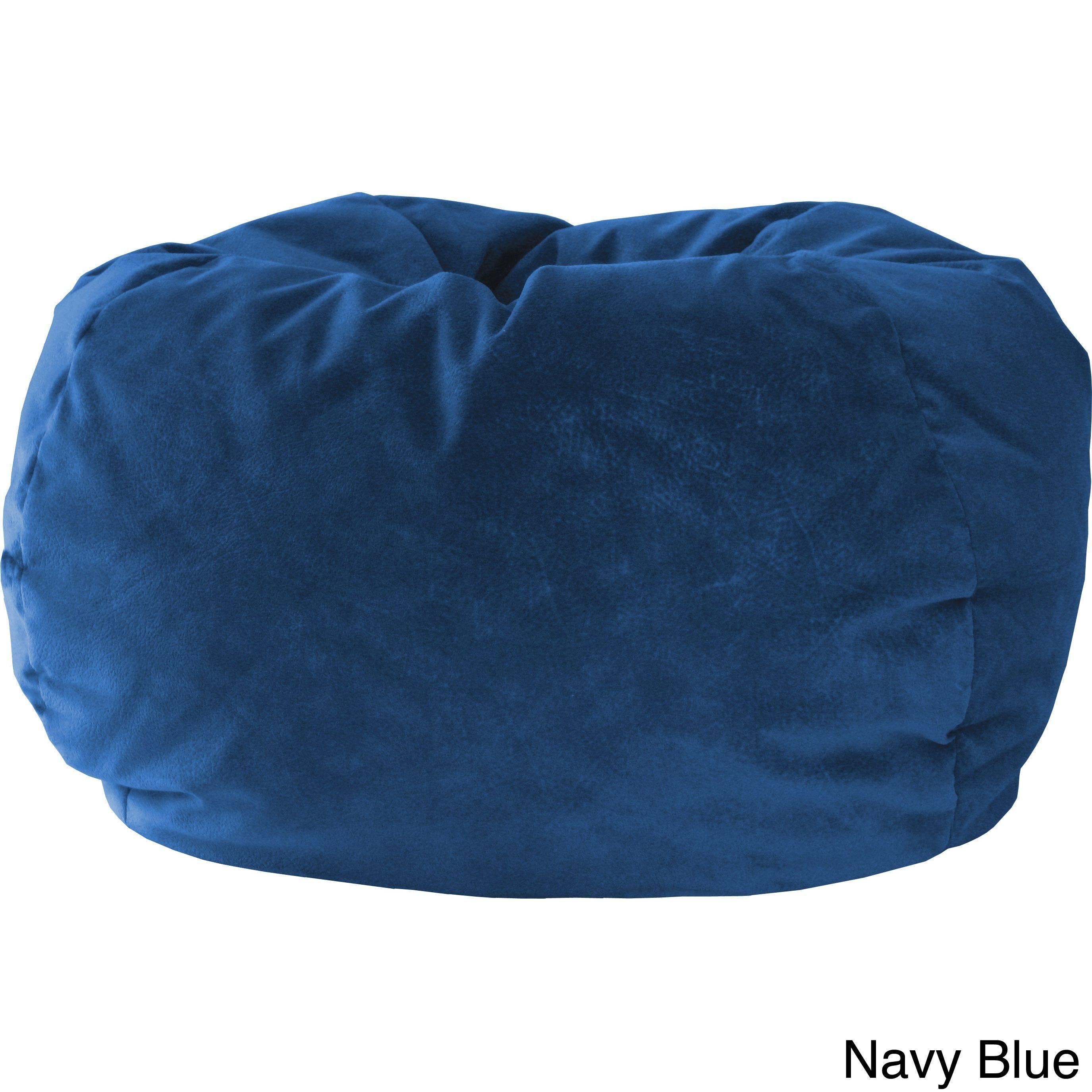 Terrific Xxl Micro Fiber Suede Bean Bag Cocoa Black Hudson Beatyapartments Chair Design Images Beatyapartmentscom