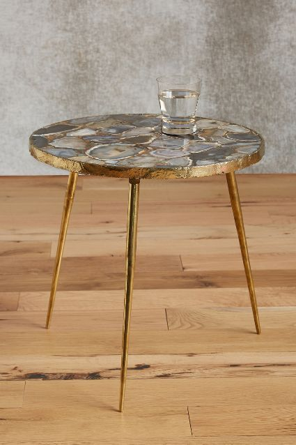 Agate End Table   Anthropologie.com