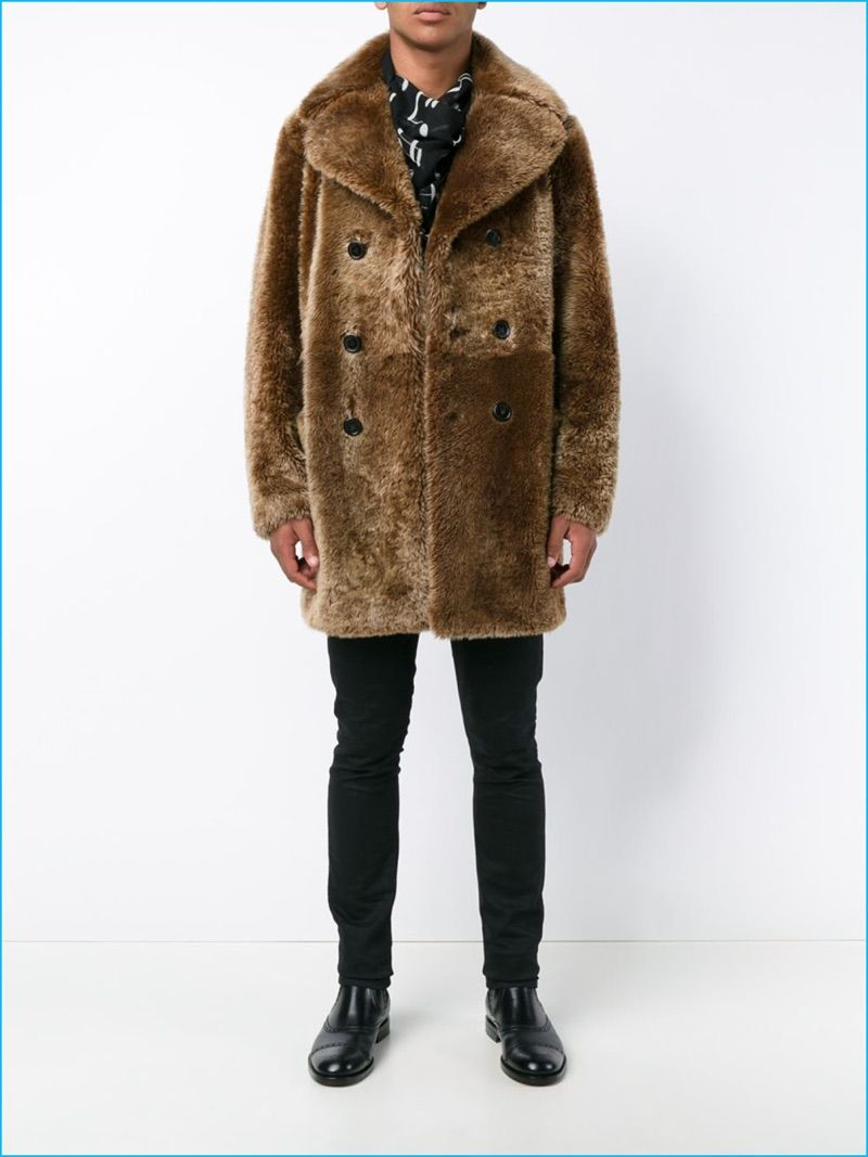 4885e374dff Indulge Your Luxe Wardrobe with Fall's Shearling Trend | Men's Coats ...