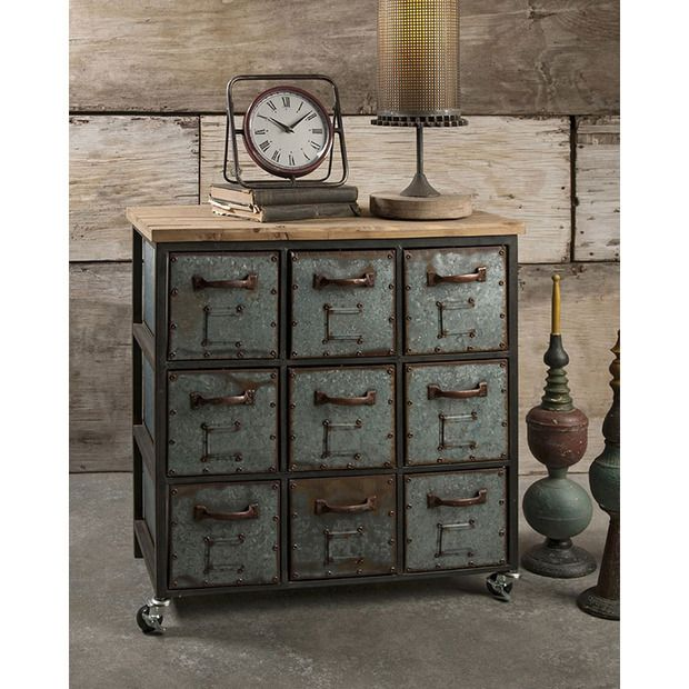 the franklin steampunk dresser is a distinguished piece incorporating natural wood elements. Black Bedroom Furniture Sets. Home Design Ideas