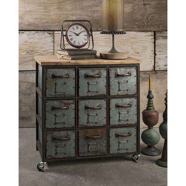 the franklin steampunk dresser is a distinguished piece incorporating natural wood elements. Black Bedroom Furniture Sets. Home Design Ideas