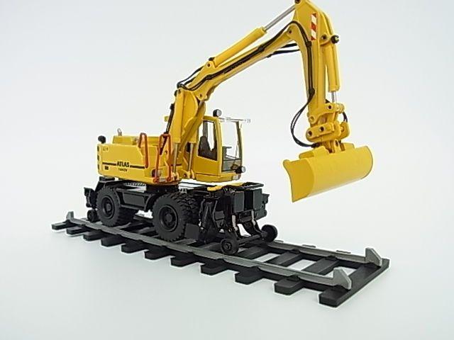 New ATLAS Wheel excavator 1604 Road-Rail specification 1/50