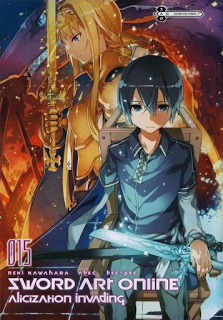 Anime Light Novels Sword Art Online Volume 15 Light Novel