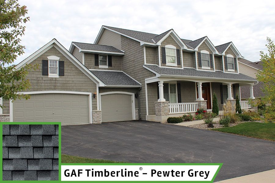 Best Timberline Pewter Gray House Styles House House Exterior 400 x 300