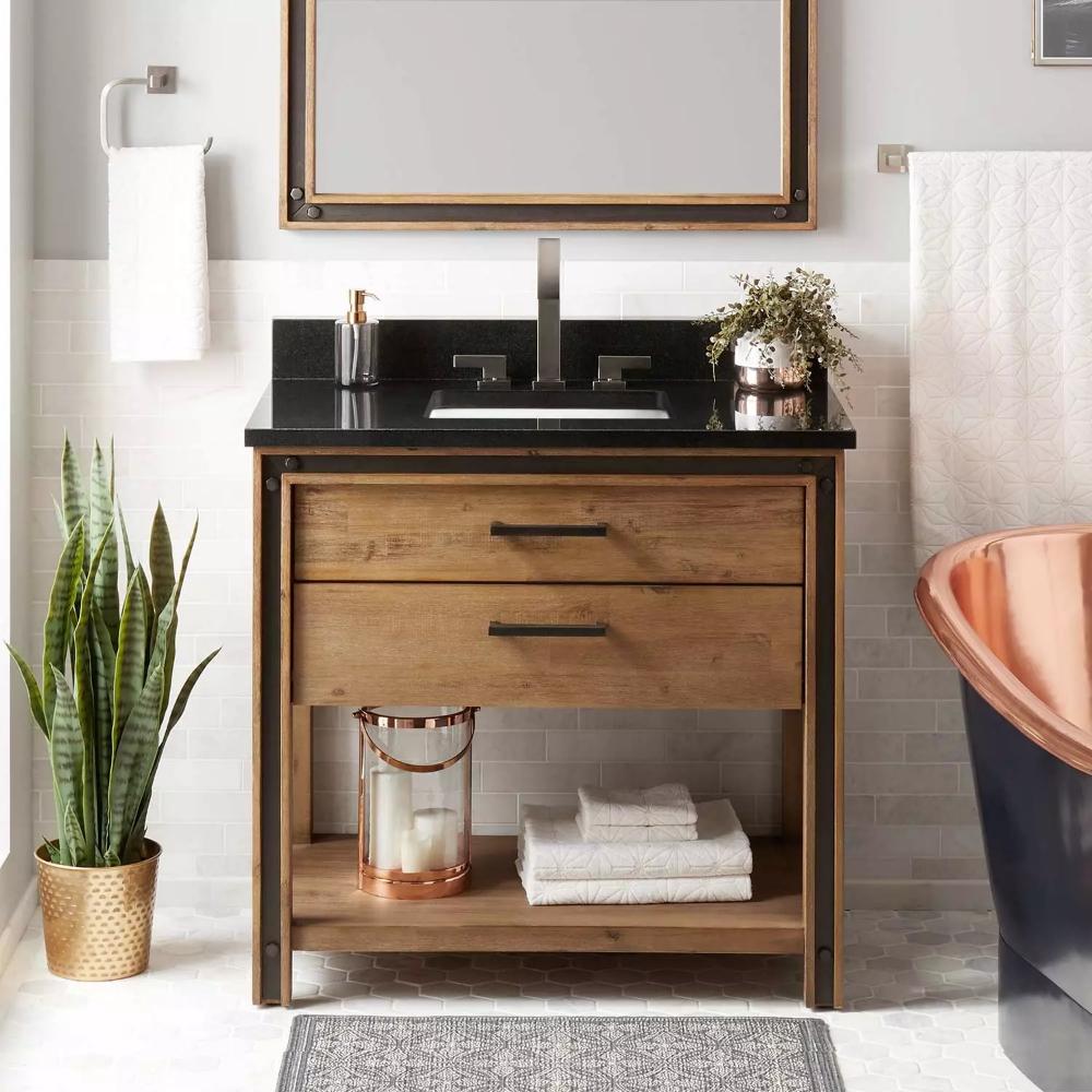 36 Celebration Console Vanity For Rectangular Undermount Sink