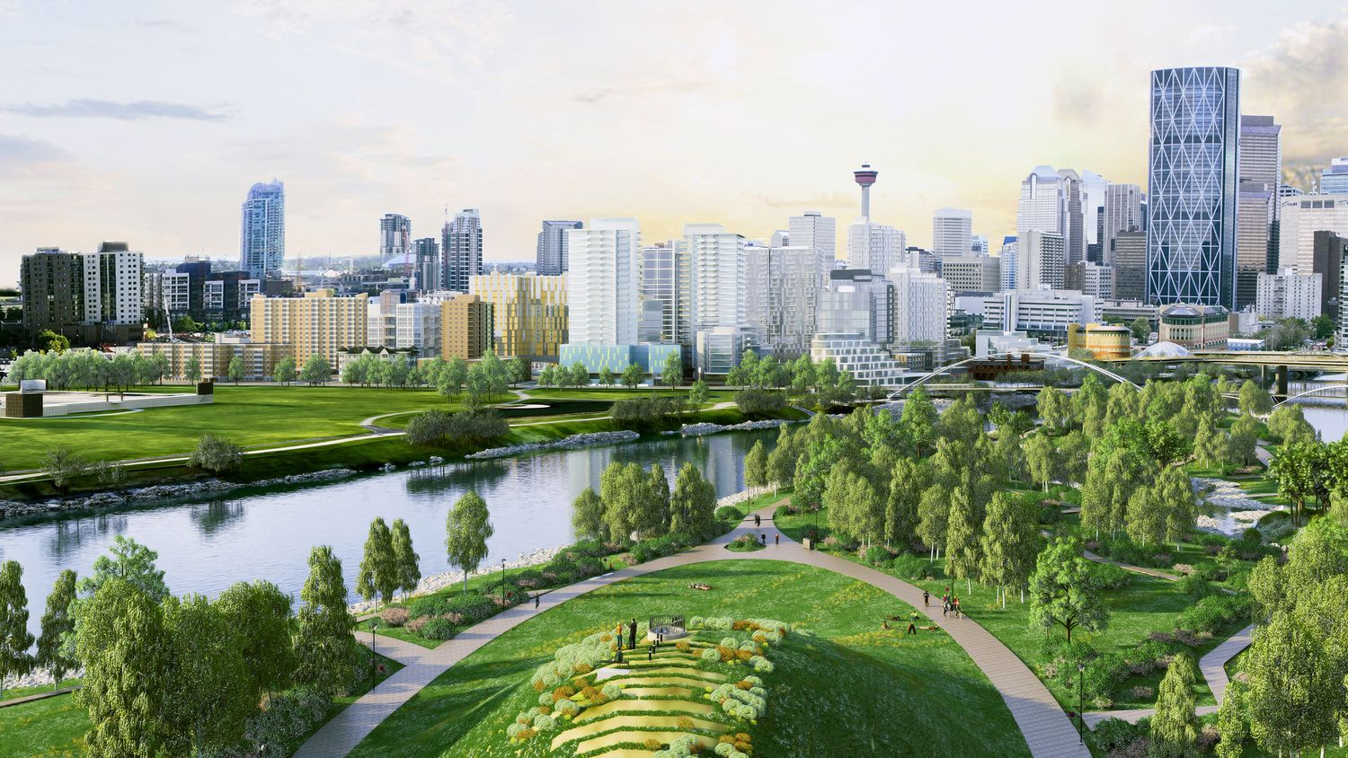 Image result for Calgary St Patrick's Island
