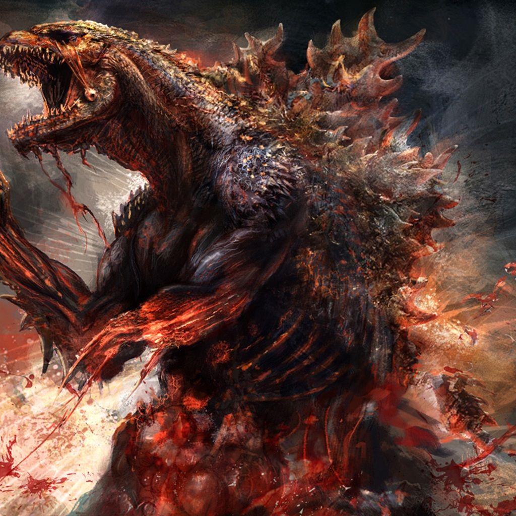 Godzilla Artwork (With images) Godzilla, Godzilla