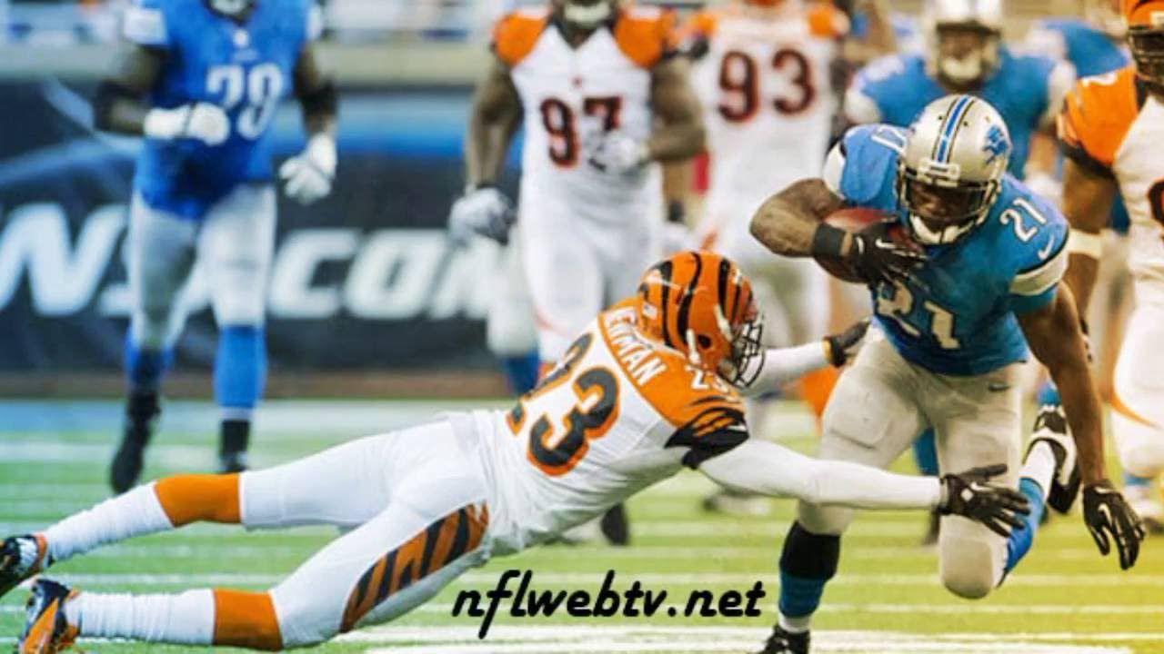 Cincinnati Bengals vs Detroit Lions Live Streaming online