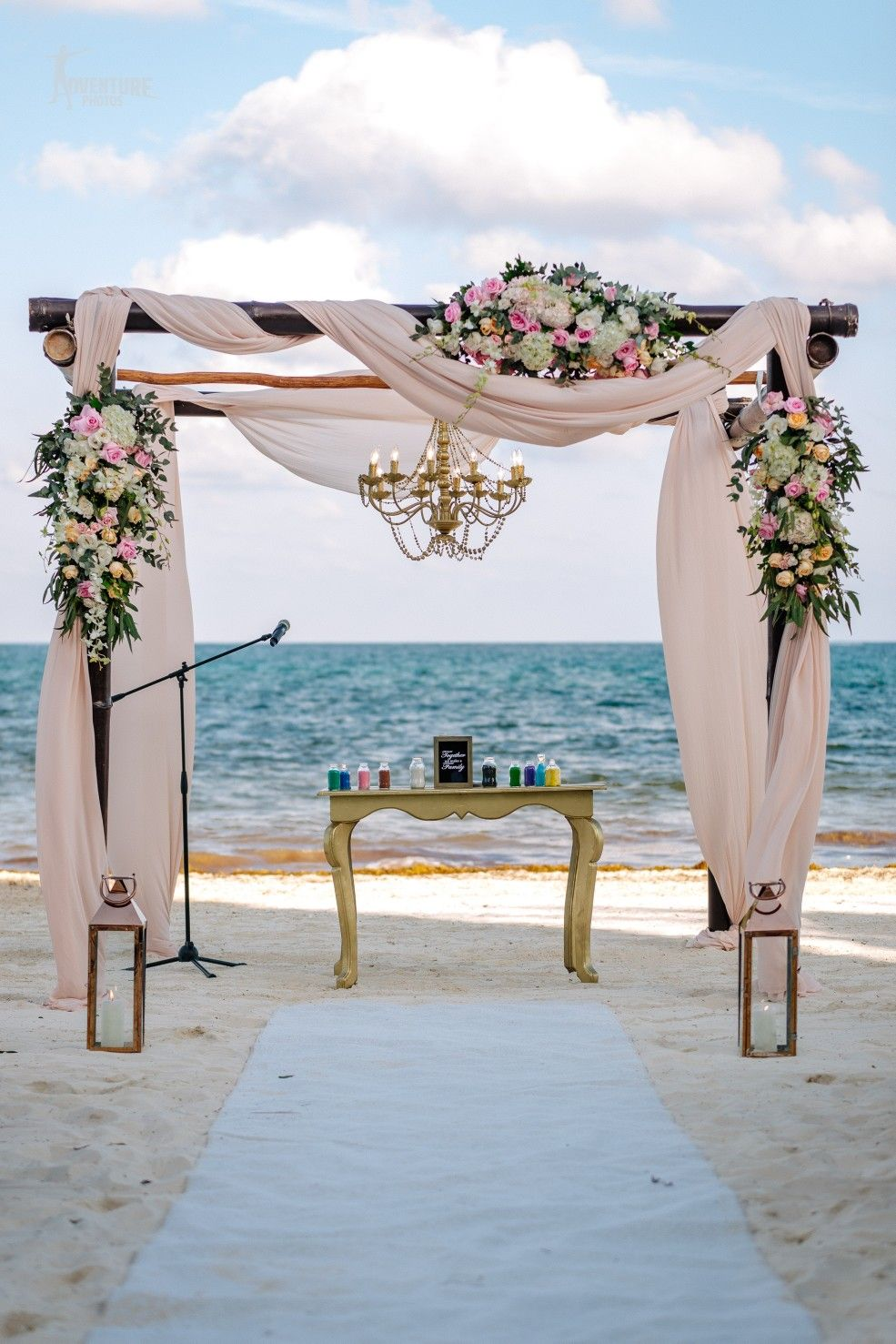 Pinterest cutipieanu Beach wedding aisles, Gazebo