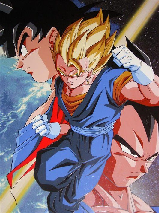 Dragon Ball Z Vegetto Personajes De Dragon Ball Dragones Personajes De Goku