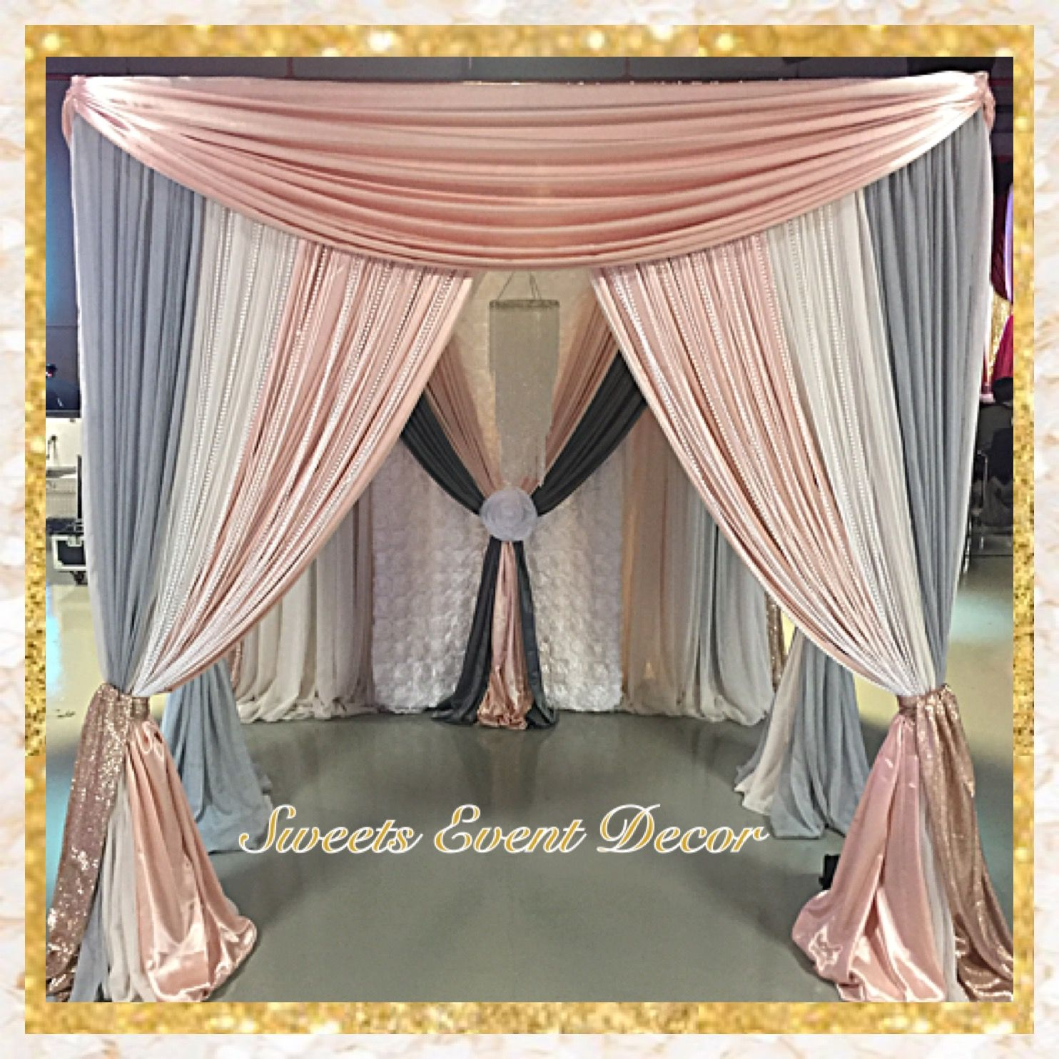 Wedding Canopy Decor by Sweets Event Decor| Tent Draping | Fabric Draping | Fabric & Wedding Canopy Decor by: Sweets Event Decor| Tent Draping | Fabric ...