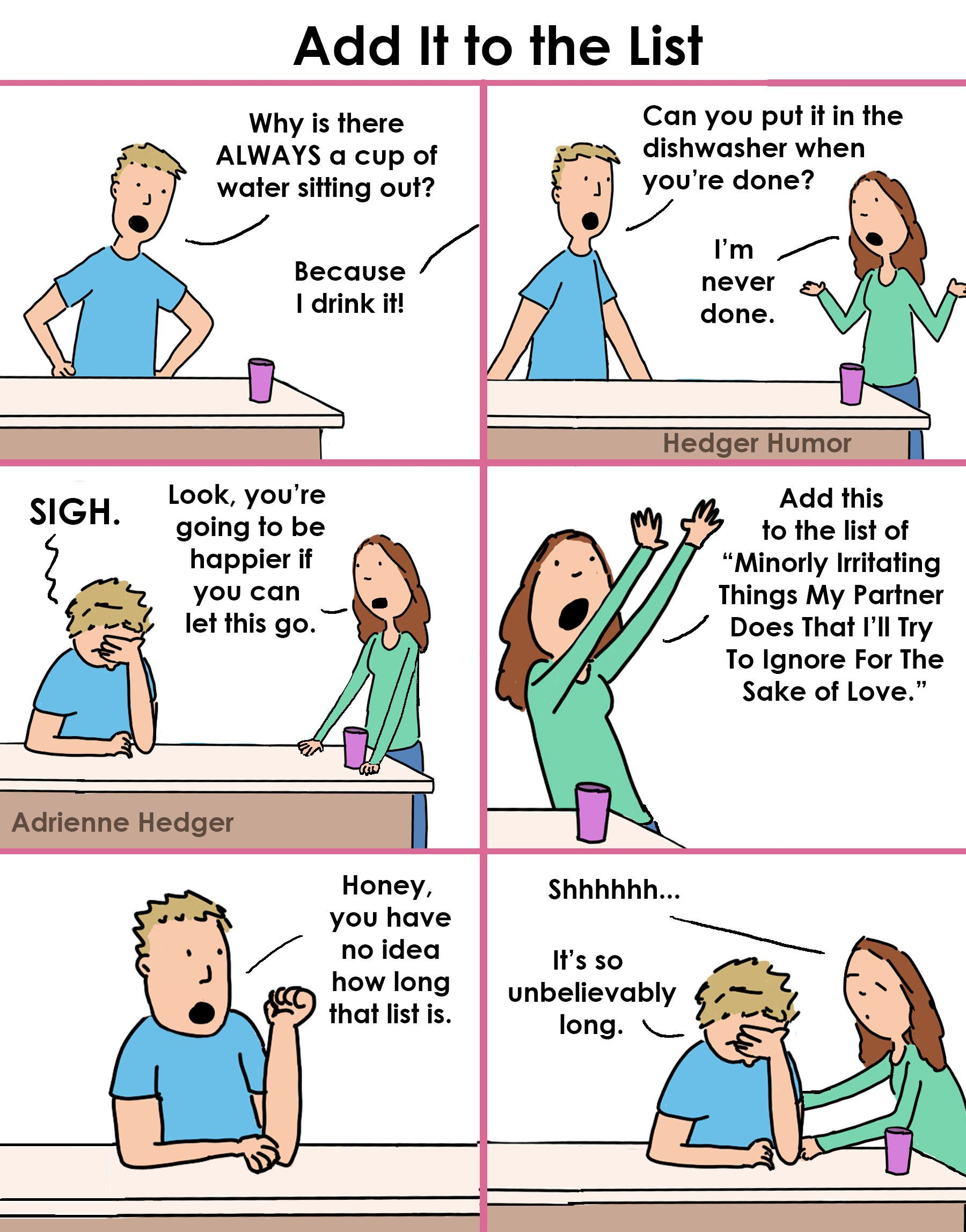Cartoon about relationships Funny pictures with captions