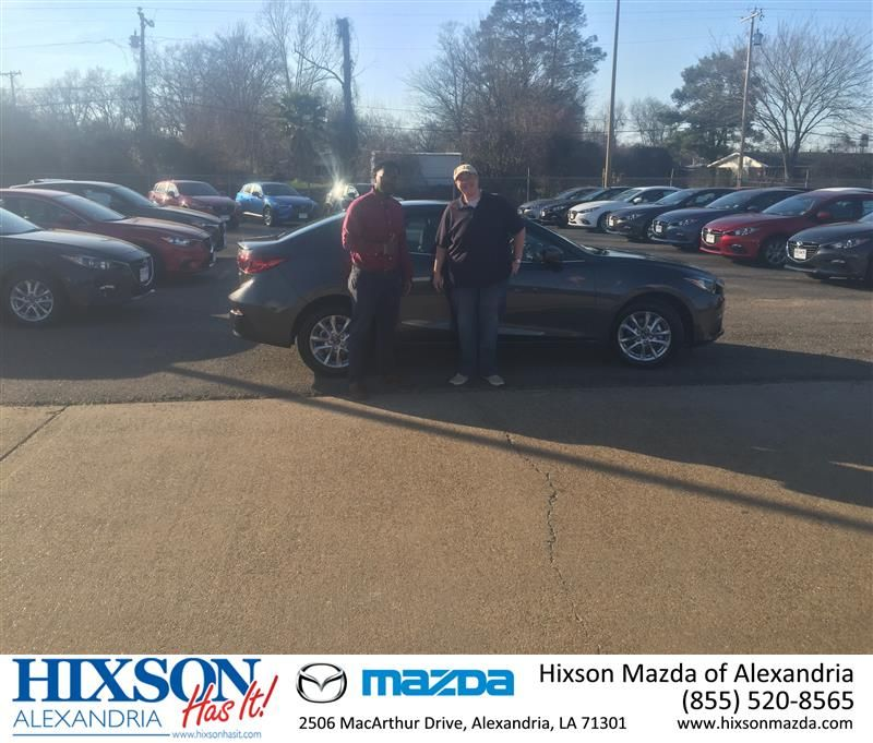 Happy Anniversary to Ashley on your Mazda Mazda3 from