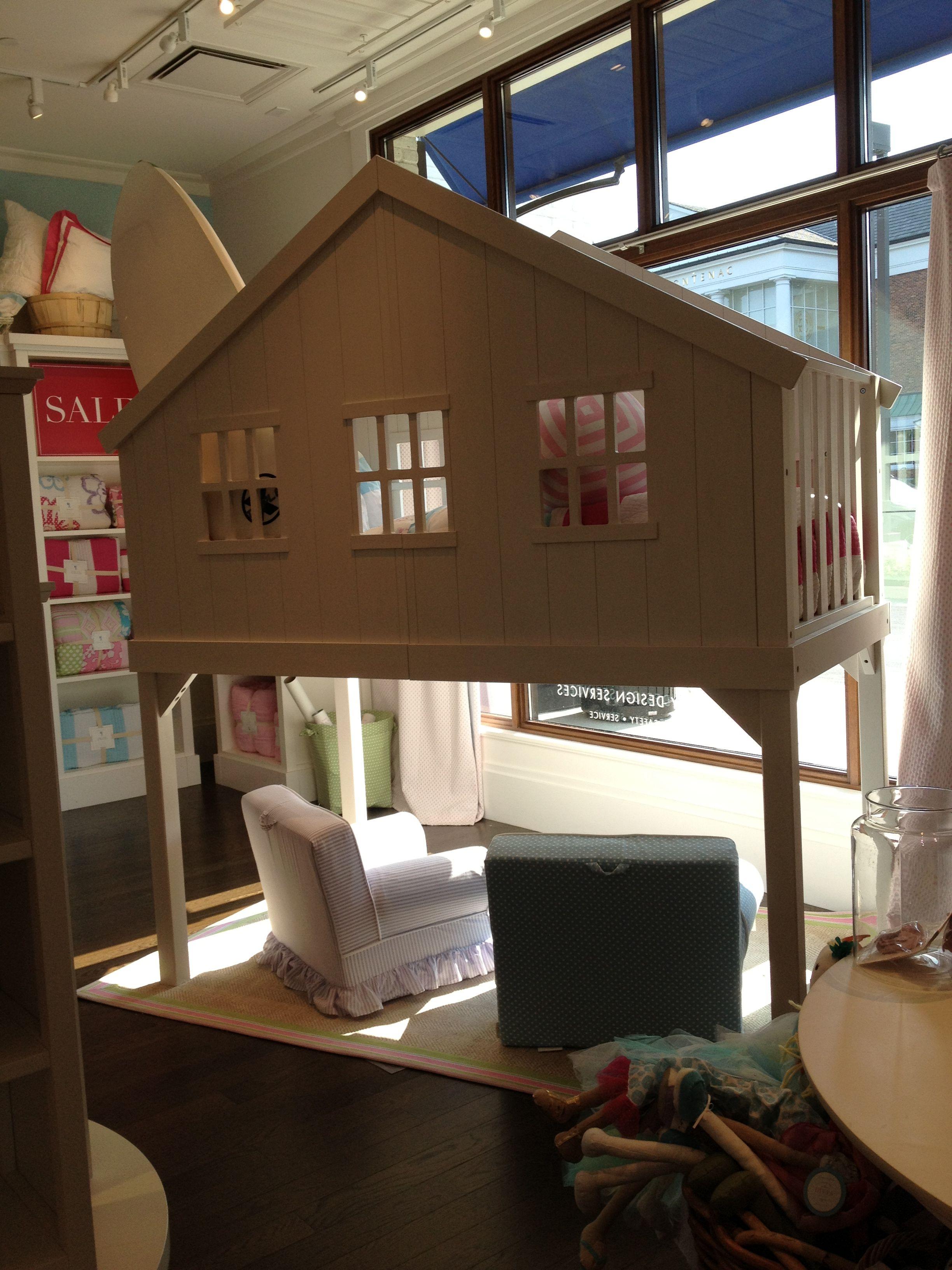 Pottery Barn White Tree House Loft Bed Loft Room Tiny House