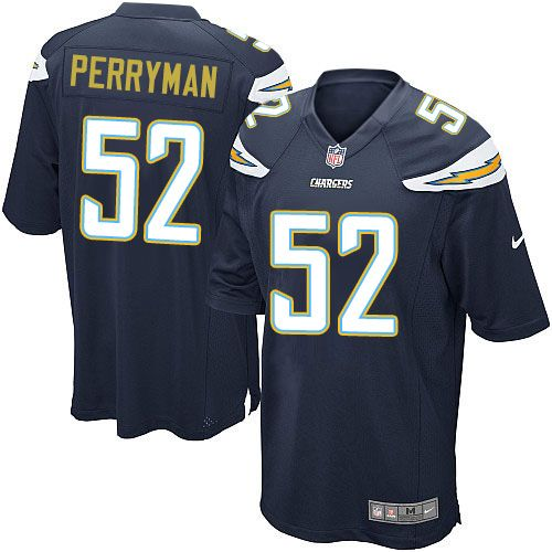 Nike Game Denzel Perryman Navy Blue Youth Jersey Los Angeles  for sale