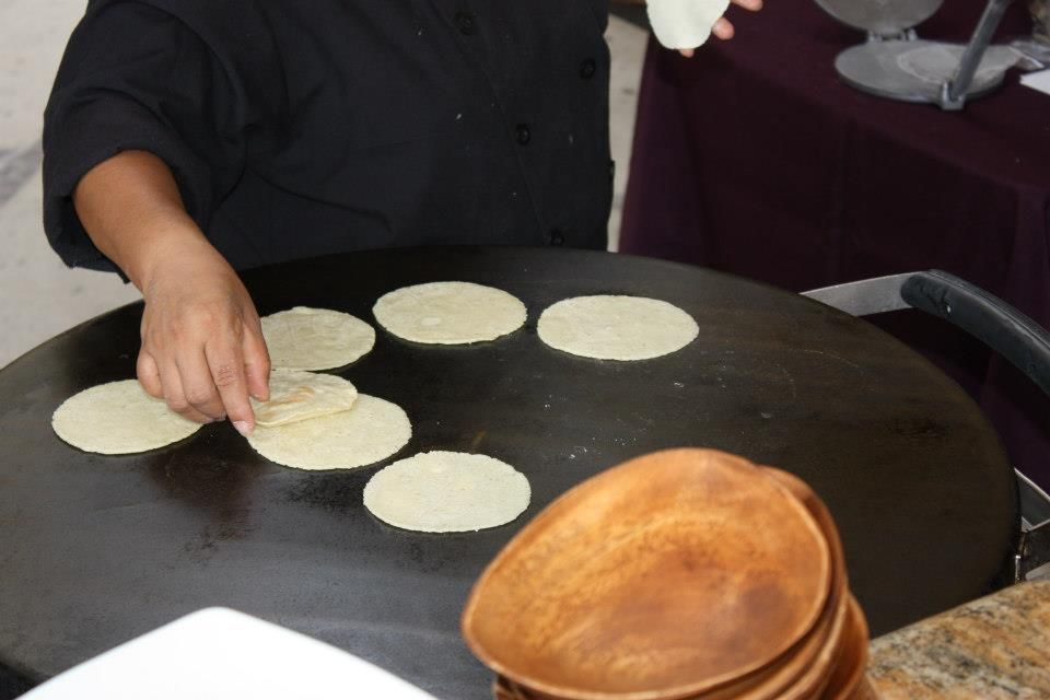 Nothing beats homemade tortillas!