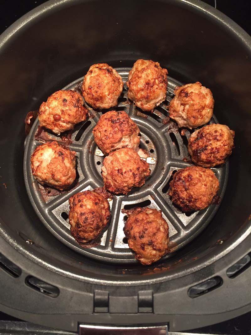 Air Fryer Meatballs Recipe Air fryer dinner recipes