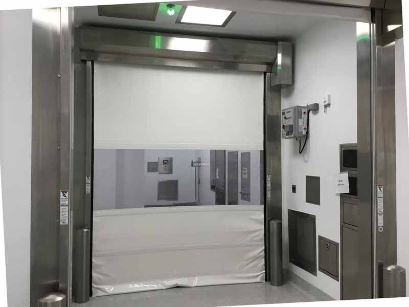 Going High Speed Door Trends And Industrial Curtain Walls In