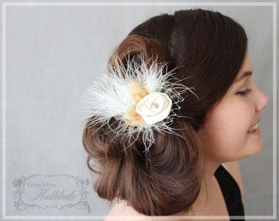 Wedding Hair Clip , Mother Of The Bride , Bridal