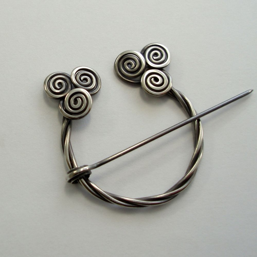 Pin by Kacper Boguszewski on LARP   Pinterest   Spiral, Brooches and ...
