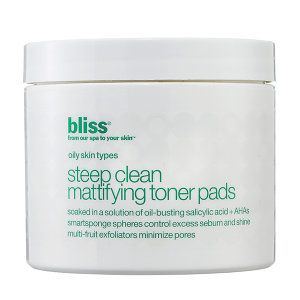 Steep Clean Mattifying Toner Pads - Bliss | Sephora | enticing ...